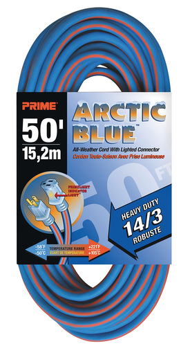 ARCTIC BLUE EXTENSION CORDS