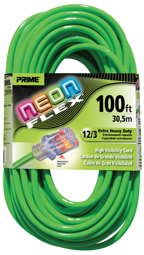 NEON FLEX EXTENSION CORDS