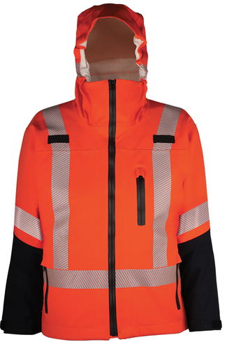 WATERPROOF FIRE JACKET 9 OZ EXODRY® FR