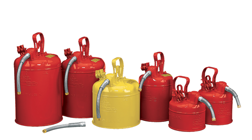 TYPE II - FILLING SAFETY CANS - FLEXIBLE SPOUT